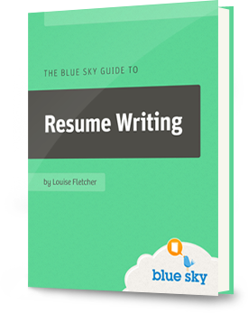 the blue sky resume guide to resume writing
