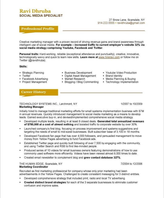 55after_1 - Marketing Professional Resume